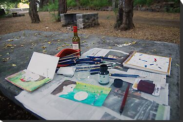 Atelier en plein air by Ina Mar