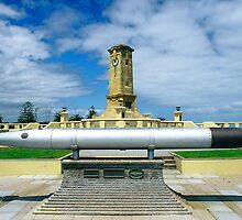 Fremantle War Memorial by Henry Molla   L.A.P.S.  P.S.Q.A.