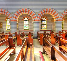 St Francis Xavier Cathedral - Geraldton- WA by Frank Moroni