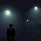 Julian on a foggy night by Albert