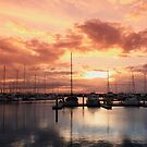 Scarborough Marina Sunset 4 May 2012 by Sea-Change