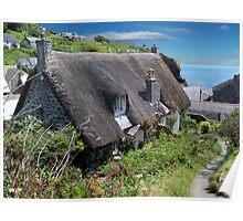 A Cornish Cove Cottage Poster