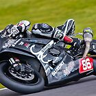 Motorbike racing . by Kit347