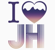 I heart Jackson Hole by jhprints