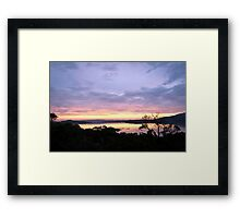 Inlet Sunrise 4th May 2012 Framed Print