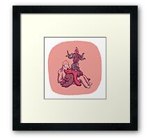 Stacks on Yeti! Framed Print