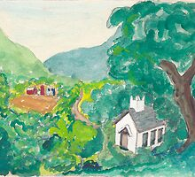 Country Church by Fred Jinkins