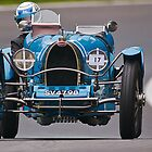 Vintage car racing. Bugatti  by Kit347