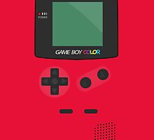 Geek Retro Video GameBoy Console  iPhone 4 Case / iPhone 5 Case / Samsung Galaxy Cases   / Pillow / Tote Bag by CroDesign