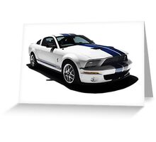 Ford Mustang GT500 Shelby Greeting Card