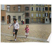 LORENZO E CATERINA IN PIAZZA DUOMO A PARMA...-italy--1500 visualizzaz.maggio 2013-VETRINA RB EXPLORE 13 MAGGIO 2012 ---- Poster