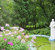 St. Francis Statue, St. Francis Monastery and Shrines, Kennebunk by kgarrahan
