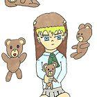 Teddy girl  by StuartBoyd