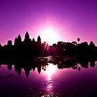 Double Flare at Angkor Wat by Simon Kirwin
