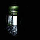 Beyond the door.....leap of faith...... by Thomas Eggert