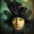 Der Rabenknig (the raven king) by ChristianSchloe