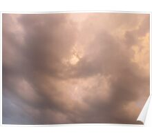 Calm Clouds Poster