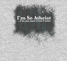 I'm So Atheist...I'm not sure even I exist by Christofero