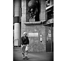 Man's World Photographic Print