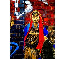 Graffiti Boy  Photographic Print