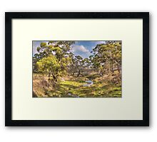Water Source - Oberon, NSW Australia - The HDR Experience Framed Print
