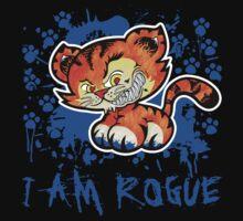 RogueTiger.com - Smirk Blue (dark) by roguetiger