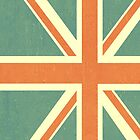 Faded Union Jack iPhone Case by alexandramarieg