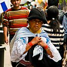 Faces of Ecuador 5 by Sue Ratcliffe
