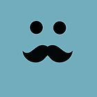Moustache iPhone Case by alexandramarieg