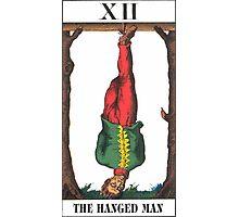 Hanged Man Tarot Photographic Print