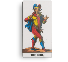 The Fool Tarot Metal Print