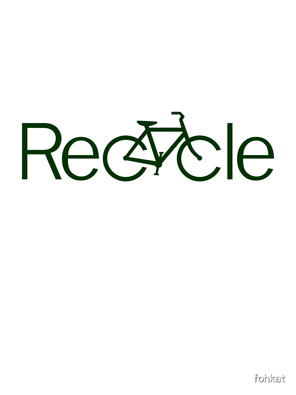 ReCycle Sticker by fohkat