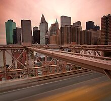 Brooklyn Bridge - NY by Alexandre Manuel
