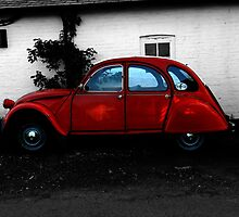 Citroen 2cv by kateemay