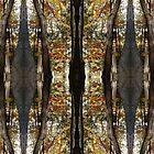 Autumn Mirrored Collage by ZugArt