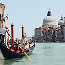 Gondola on the Grand Canal by Andrew Walker