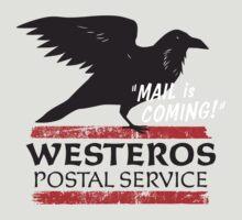 Westeros Postal Service by AJ Paglia