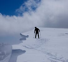 Pacific Crest Checking Cornice by David Galson