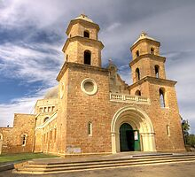 St Francis Xavier Cathedral Church - Geraldton - WA by Frank Moroni