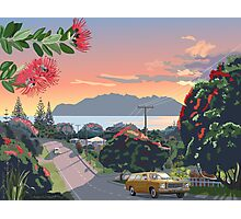 Great Barrier Island - Road to Leigh Photographic Print
