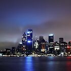 Sydney, Night landscape by unileeds