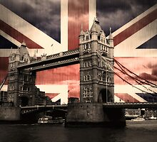 Union Jack London by Anthony  Poynton