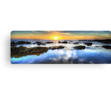Sunrise & Solitude Canvas Print