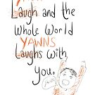 Yawning by twisteddoodles