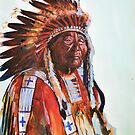 Crazy Head, Cheyenne Chief by Martin Gyger