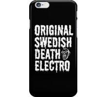 O.S.D.E (black) iPhone Case/Skin