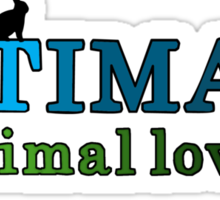Ultimate Animal Lover Sticker