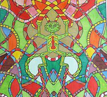 Multicoloured Celtic Sprite. by Martinkeenan