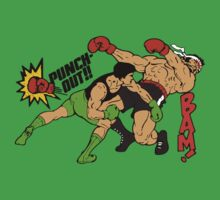 Little Mac Vs. Piston Honda Retro Design by PureOfArt
