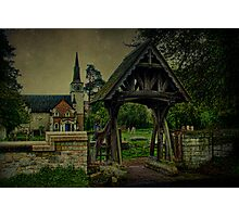 St Andrews Church Gatton and Lychgate Photographic Print